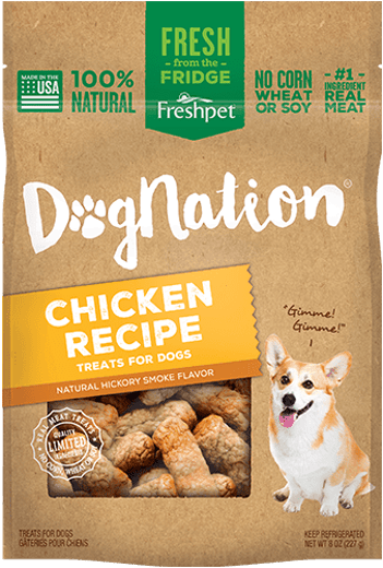 Dognation dog treats chicken recipe
