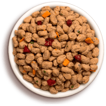 a bowl of freshpet select tender chicken recipe for small dogs