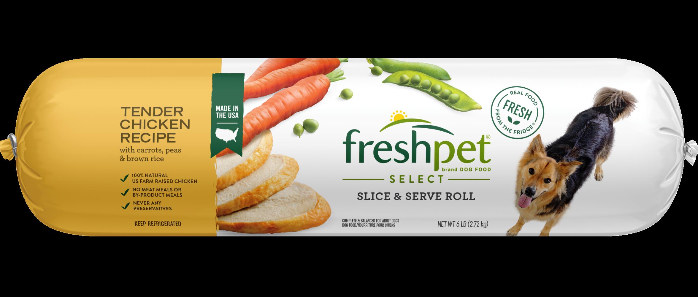Tender En With Vegetables Dog Food