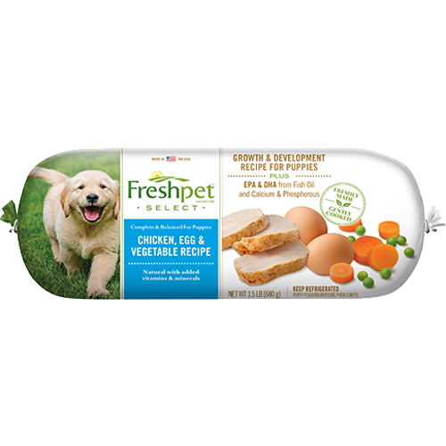 Freshpet Select Tender Chicken With Vegetables Puppy Food