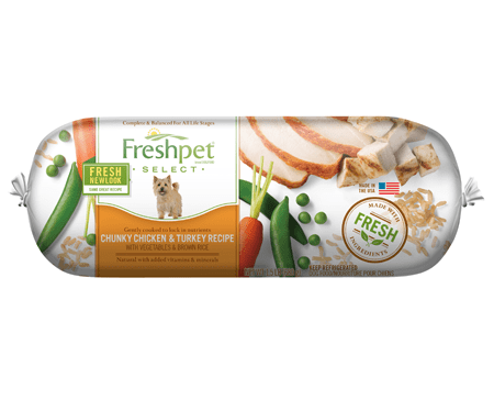 Freshpet freshpet select chunky chicken turkey with our brands forumfinder Choice Image