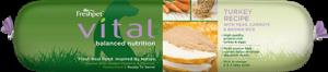 vital balanced nutrition turkey dog food roll