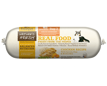 Freshpet natures fresh chicken with carrots peas brown rice our brands forumfinder Gallery