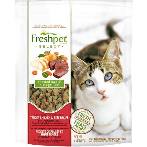 Freshpet Select Tender Chicken With Garden Vegetables Cat Food Recipe