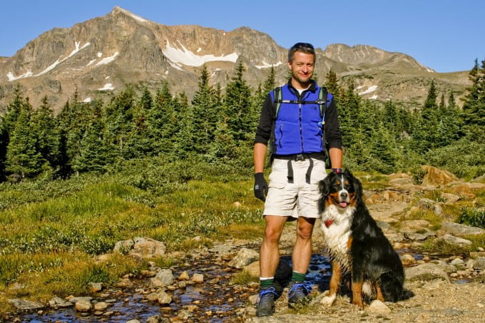 Take your pup for a hike on a beautiful day like this! (Photo courtesy of Towle N.)
