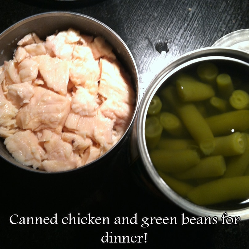 Chicken Green Beans Dinner