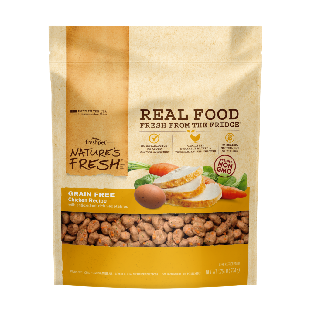 Freshpet Nature's Fresh Grain Free Chicken Carrot Dog Food