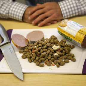 Pet Parents Raid Fridge to Feed Fido