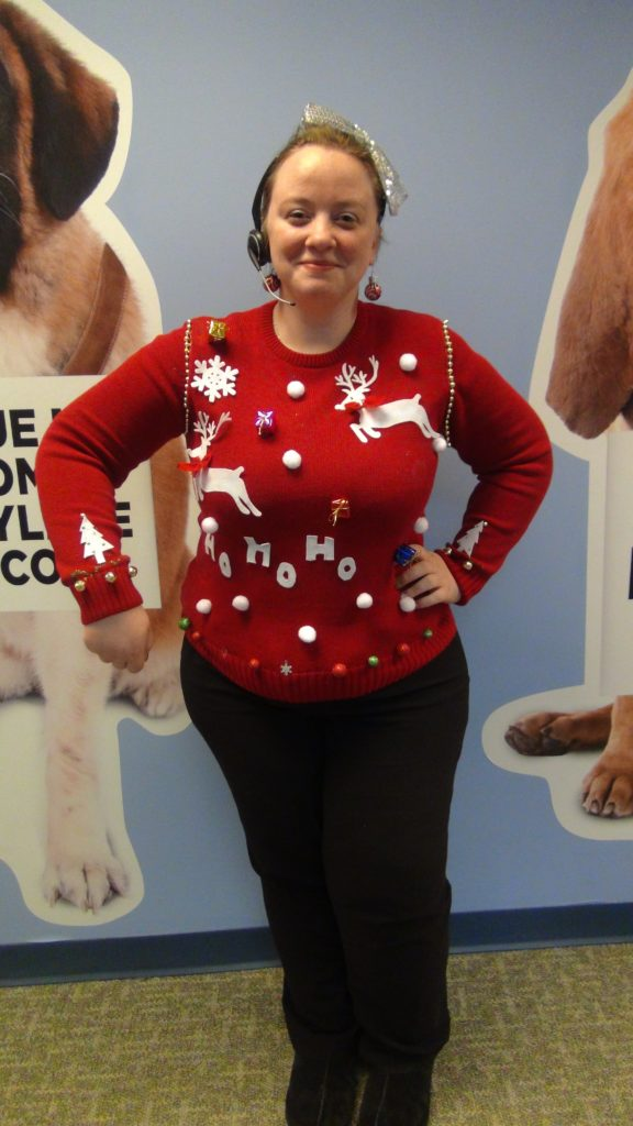 Sandy loves listening to holiday songs that remind her of her Mom's home-cooked Italian meals at Christmas time!