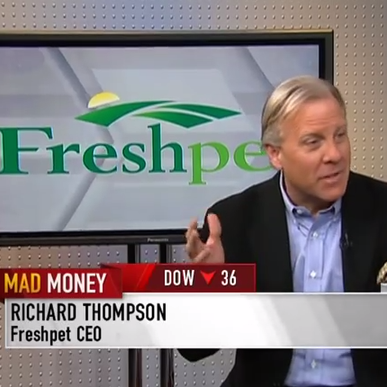 Freshpet CEO Richard Thompson live on Mad Money | CNBC