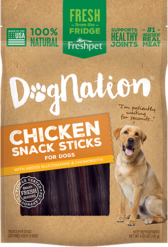 Dognation chicken snack sticks for dogs