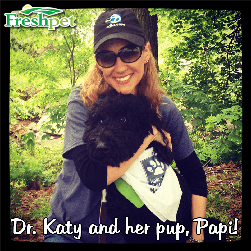 Dr. Katy and Her Dog