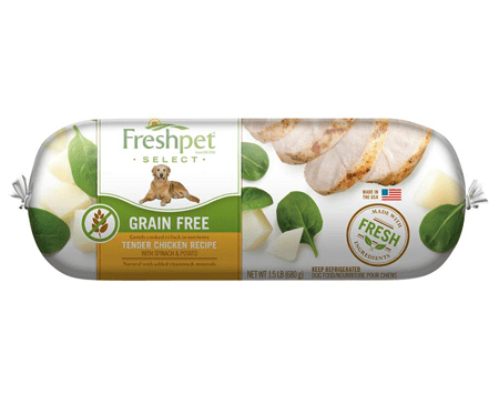 Freshpet freshpet select grain free tender chicken with spinach our brands forumfinder Gallery