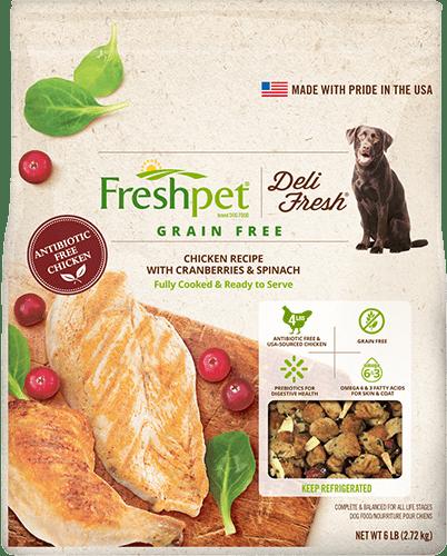 Freshpet Deli Fresh Dog Food Product Line