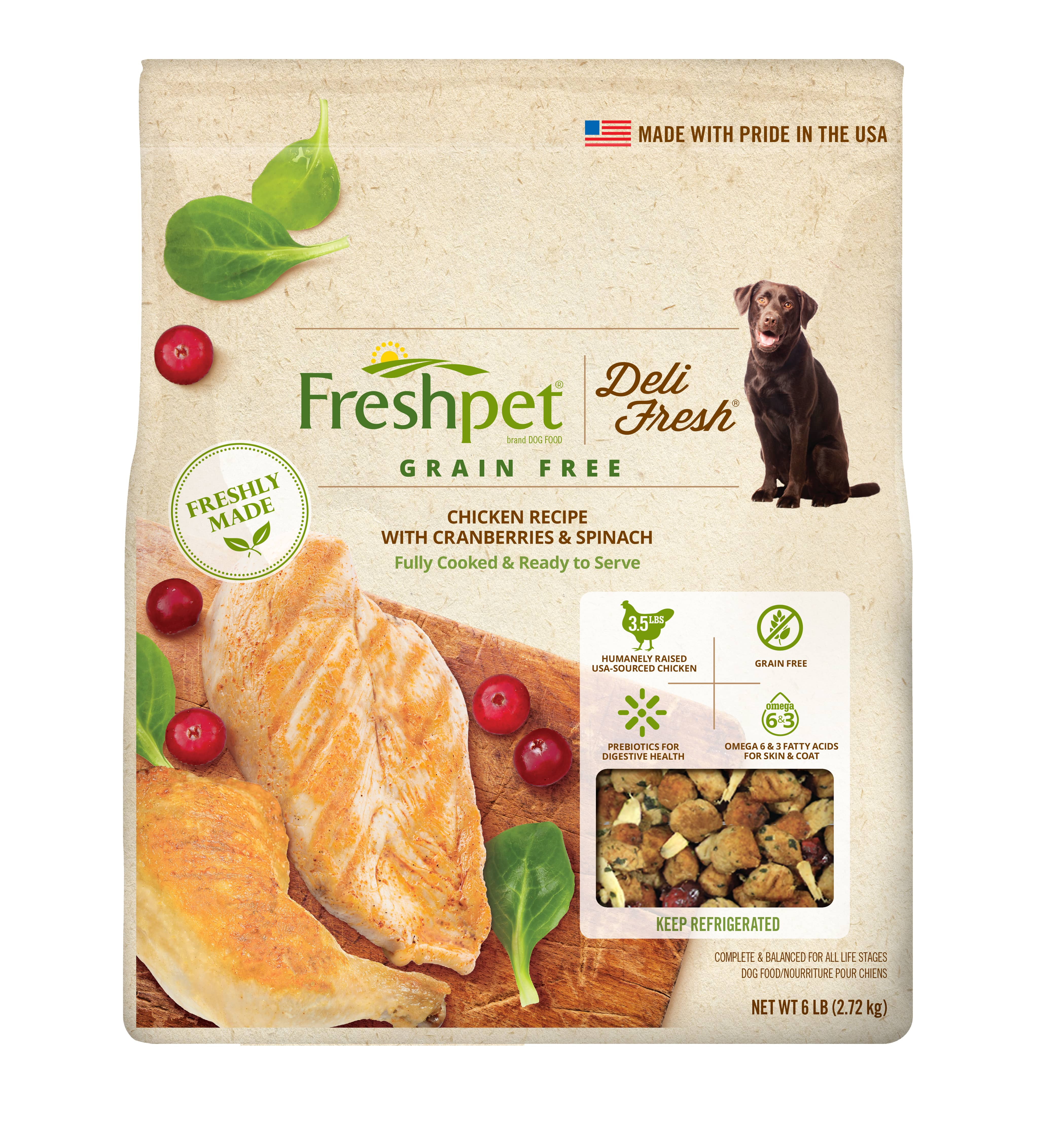 Deli fresh grain free chicken cranberry spinach dog food forumfinder Image collections