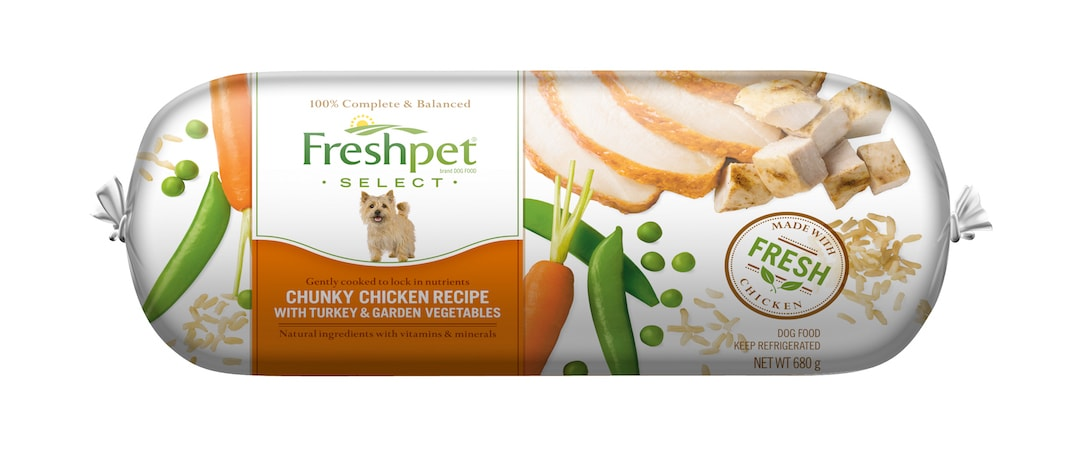 Freshpet Select Dog Food Ingredients