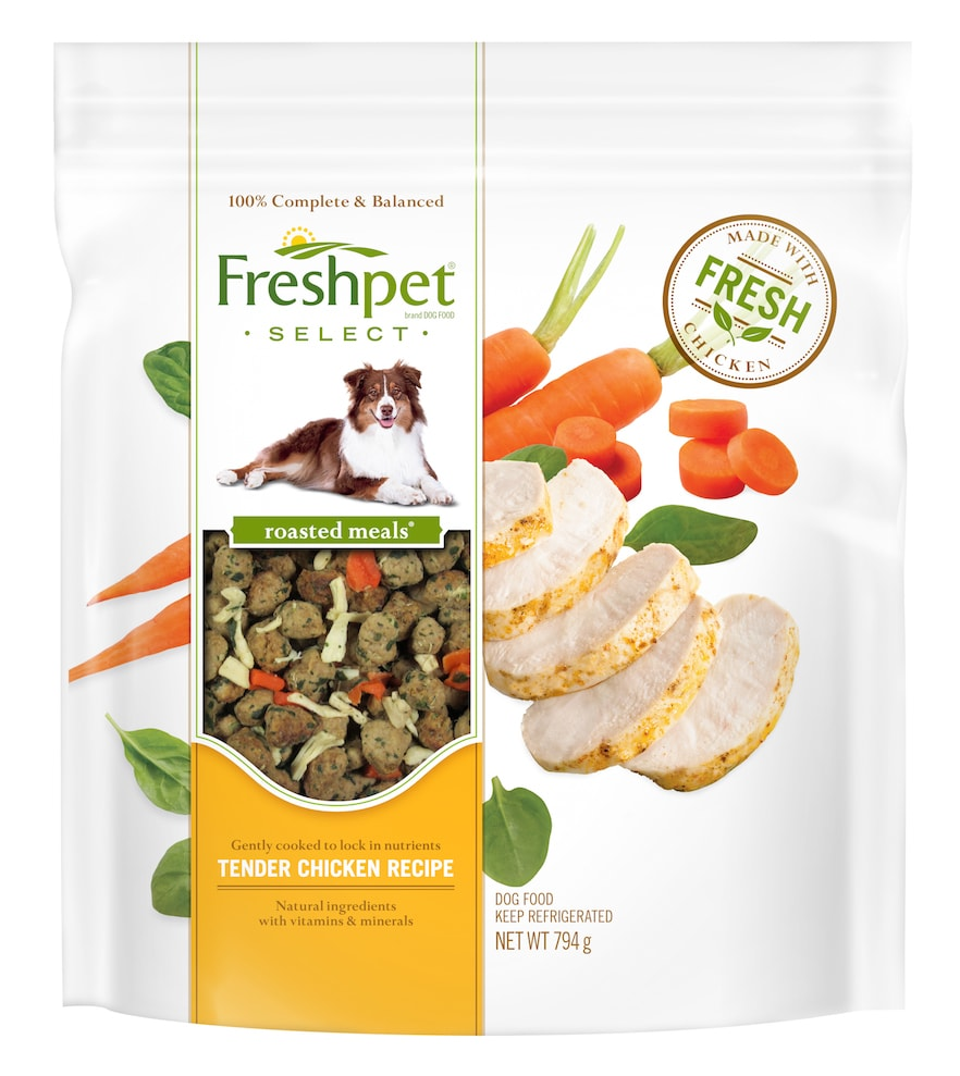 Freshpet Vital Grain Free Dog Food Review