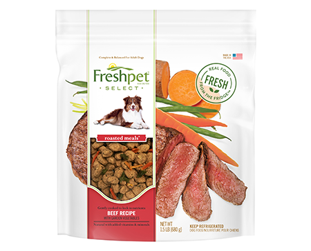 Freshpet freshpet select tender beef with sweet potatoes garden our brands forumfinder Gallery
