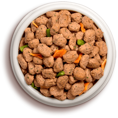 a bowl of freshpet select roasted meals beef with garden vegetables