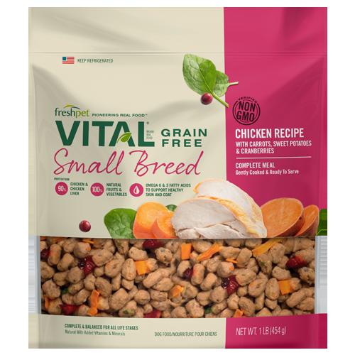Freshpet Vital Grain Free Chicken Small Breed Dog Food