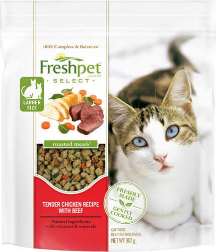 Freshpet Select Tender Chicken And Beef Bites Cat Food