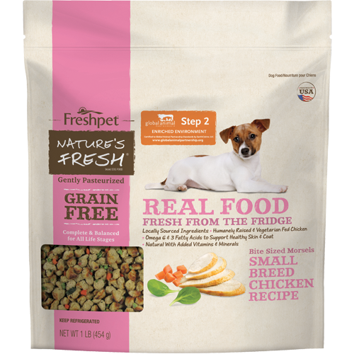 Natures Fresh Small Breed Chicken Dog Food Recipe Food Freshpet